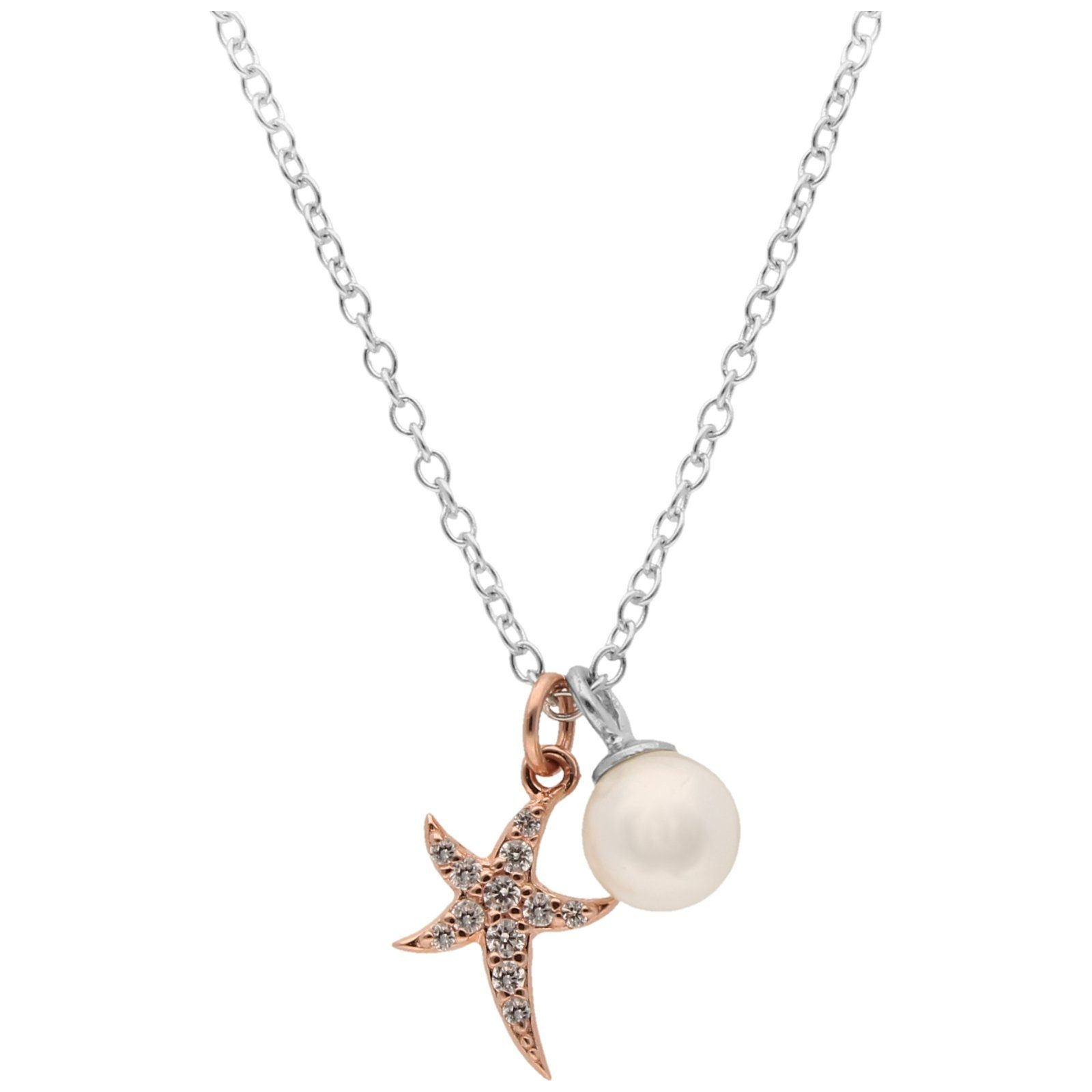 Jewel Kette »seestern Anhänger Und Smart Mit Kaufen Perle« Online Nmwn08