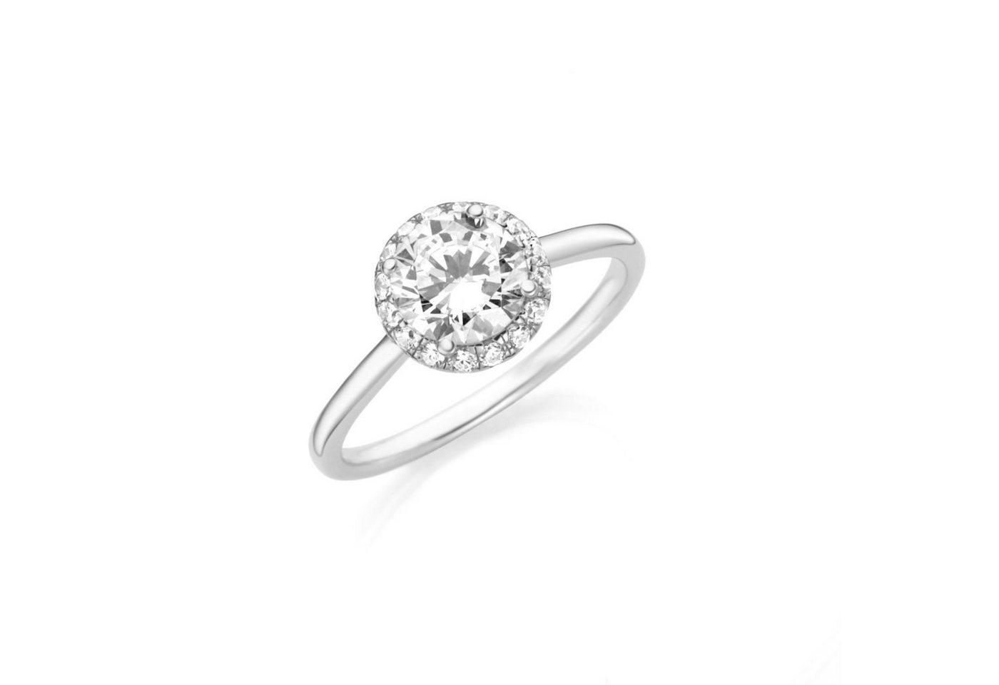 Smart Jewel Verlobungsring »funkelnd mit Zirkonia« | Schmuck > Ringe > Verlobungsringe | Weiß | Smart Jewel