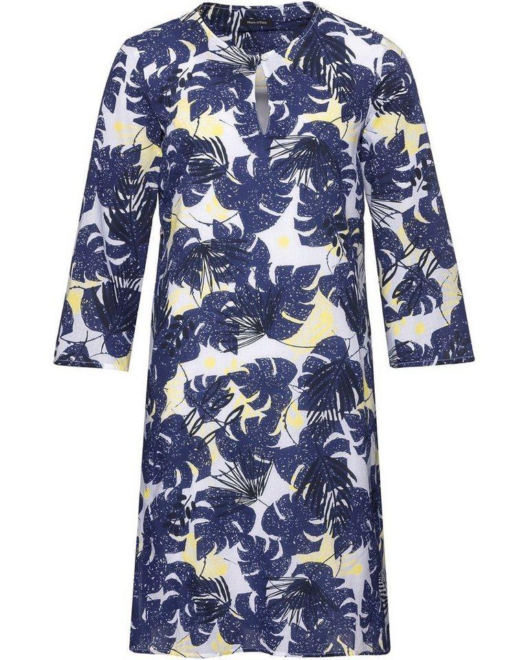 7287b893e292e9 Marc O'Polo Kleid mit Blättermuster online kaufen | OTTO