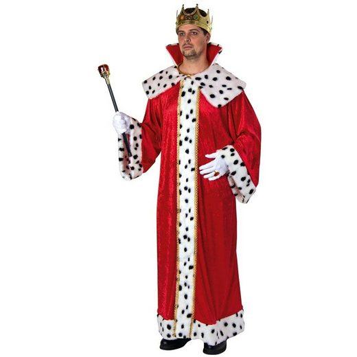 Edles Königsgewand Kostüm - Einheitsgröße (M-XL)