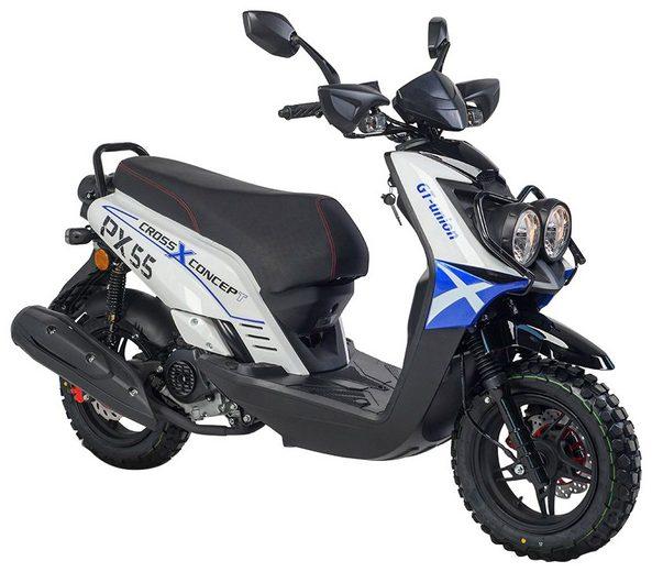 GT UNION Motorroller »PX 55 Cross-Concept«, 50 ccm, 45 km/h
