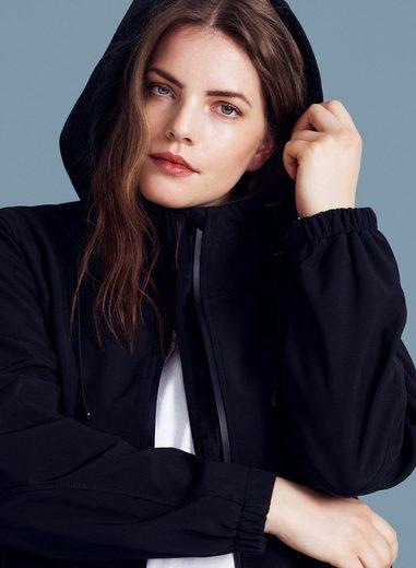 Zizzi Outdoorjacke Damen Große Größen Softshell Jacke Kapuze Outdoorjacke