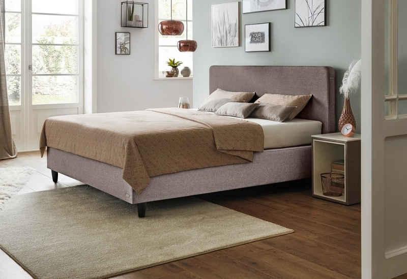 JETTE Betten Boxspringbett »Basis #101 Straight«, einteilige Matratze, 140 cm