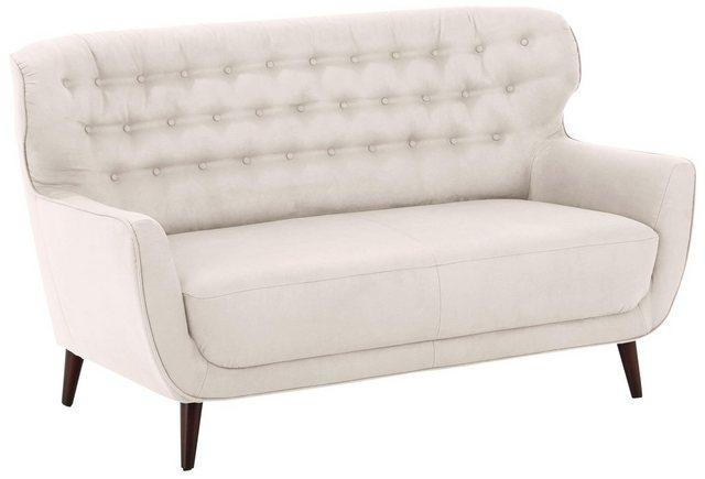 Sofas - Home affaire 2 Sitzer »Aberdeen«, mit Knopf Heftung im Rücken im Retro Design  - Onlineshop OTTO