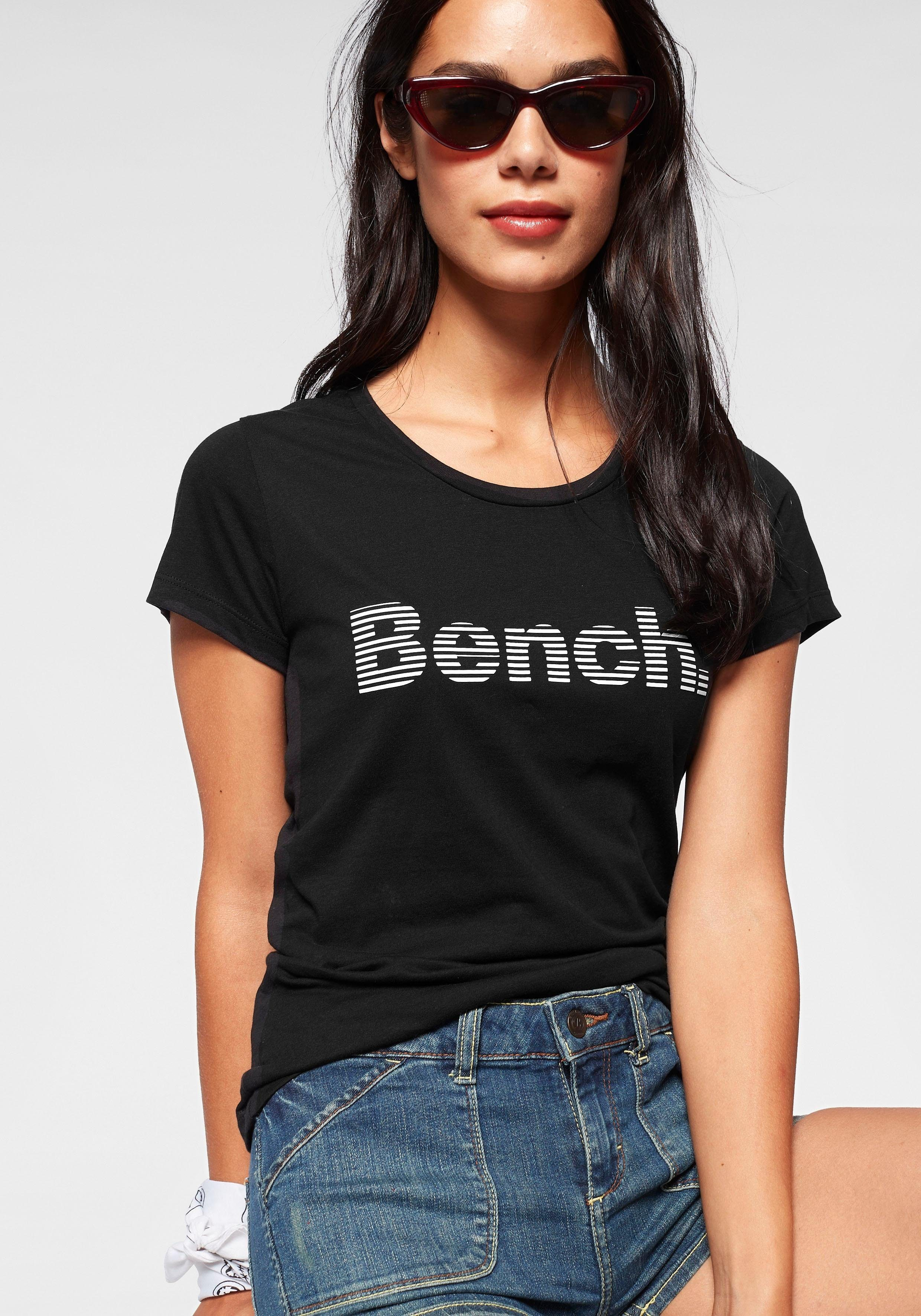Tom Tailor Denim Damen Shirt Blusen-Top Rundhalsshirt Kurzarmshirt Halbarm Mode