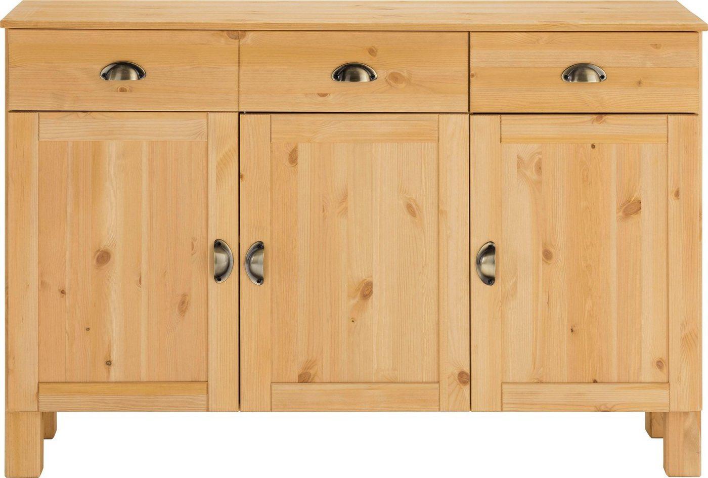 Küchenschränke - Home affaire Unterschrank »Oslo«, Breite 125 cm  - Onlineshop OTTO