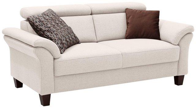 Sofas - Home affaire 2,5 Sitzer »Arngast«, inklusive Kopfteilverstellung, Federkern  - Onlineshop OTTO