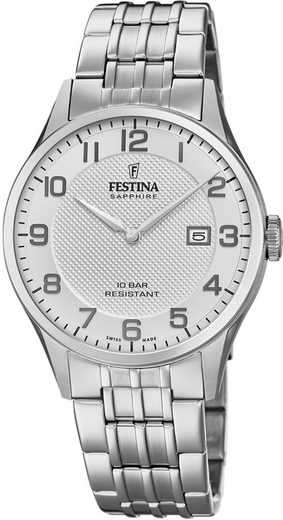 Festina Quarzuhr »Swiss Made Collection, F20005/1«