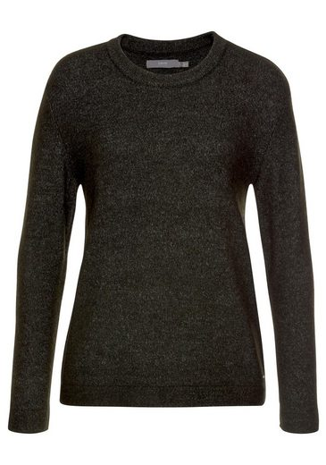 b.young Strickpullover in melierter Optik