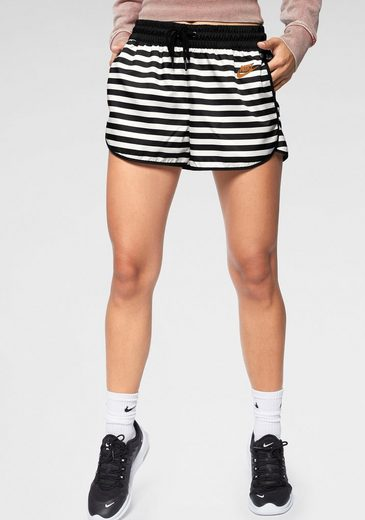 Nike Sportswear Shorts »WOMAN NIKE SPORTSWEAR WHITE/BLACK/WHITE/DESERT OCHRE«