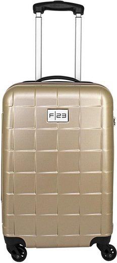 F23™ Hartschalen-Trolley »Wave 3.0, 58 cm, ricegold«, 4 Rollen