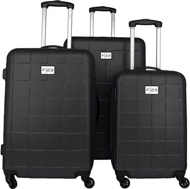 F23™ Trolleyset »Wave 3.0, anthrazit«, 4 Rollen