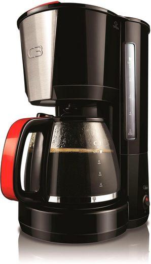 C3 Filterkaffeemaschine 30-10614 Coffee Time Deluxe, 1,5l Kaffeekanne, Permanentfilter