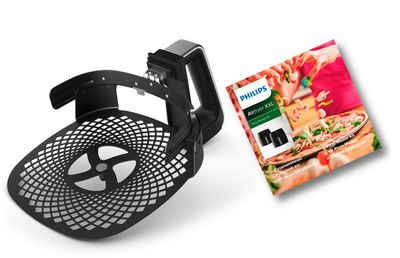 Philips Backeinsatz HD9953/00 Pizzablech, Zubehör für Airfryer XXL: HD963X, HD965X, HD975X, HD976X und HD986X