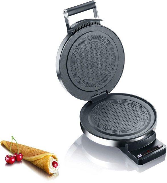 Graef Waffeleisen Hörncheneisen HE 80  Edelstahl matt  850 W   Küche und Esszimmer > Küchengeräte > Waffeleisen   Graef