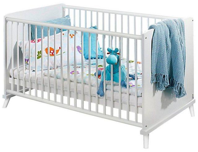 Babyzimmer - Babyzimmer Komplettset »Danzig«, (3 tlg) Bett Wickelkommode 3 trg. Schrank  - Onlineshop OTTO