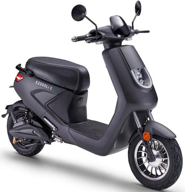 Luxxon E-Motorroller »E2000LI S 25 km/h«, 25 km/h*
