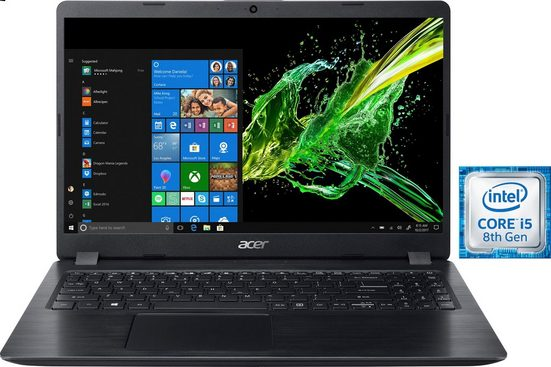 Acer Aspire 5 A515-52G SSD Notebook (39,62 cm/15,6 Zoll, Intel Core i5, 512 GB SSD)
