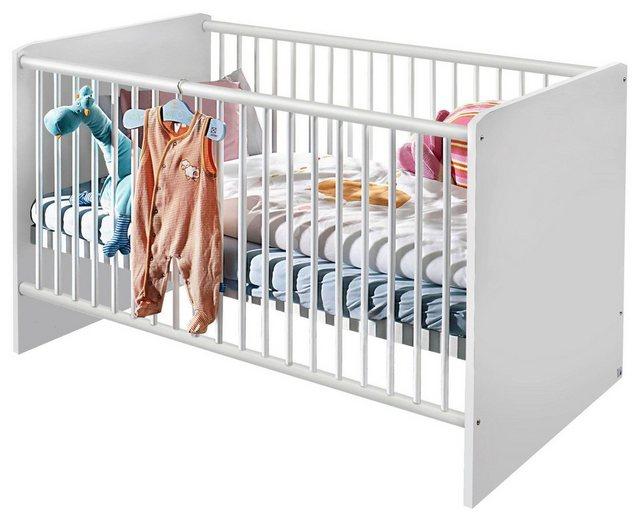 Babyzimmer - Babyzimmer Komplettset »Bristol«, (3 tlg) Bett Wickelkommode Eckschrank  - Onlineshop OTTO