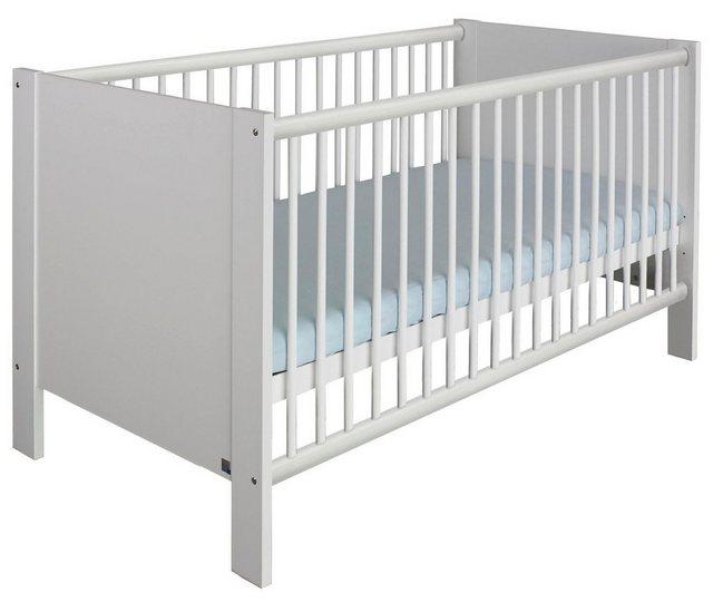 Babyzimmer - Babyzimmer Komplettset »Hiddensee«, (3 tlg) Bett Wickelkommode 2 trg. Schrank  - Onlineshop OTTO