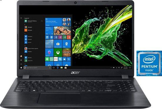 Acer Aspire 5 A515-52K Notebook (39,62 cm/15,6 Zoll, Intel Pentium, 1000 GB HDD, 128 GB SSD)