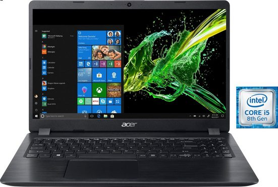 Acer Aspire 5 A515-52G Notebook (39,62 cm/15,6 Zoll, Intel Core i5, 1000 GB HDD, 128 GB SSD)