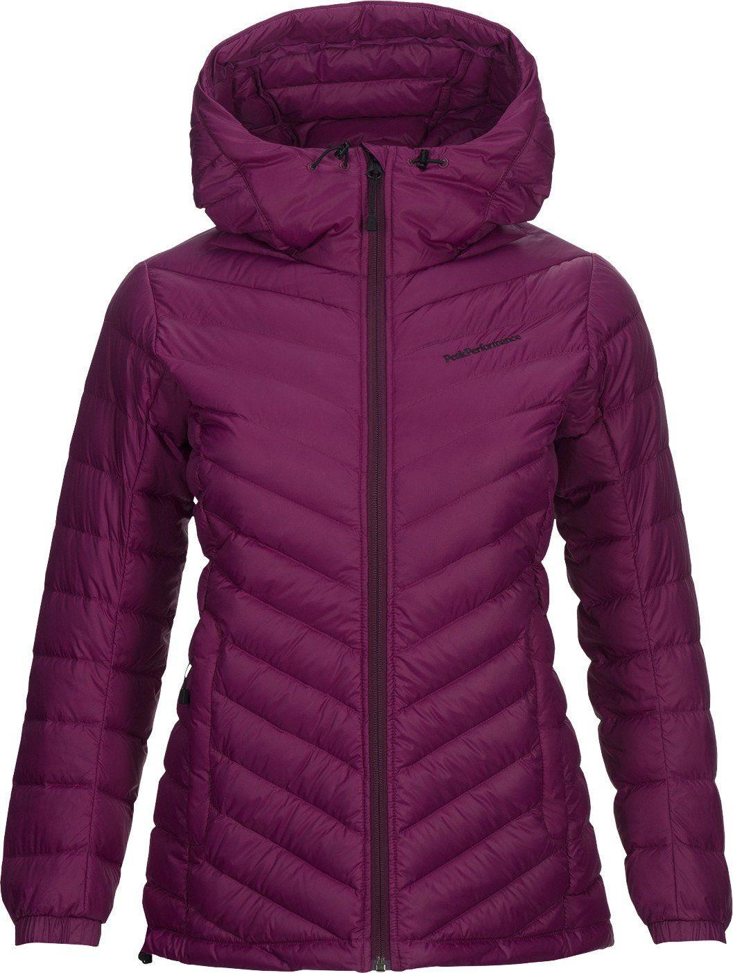 Down Jacket Peak Performance »frost Online Women« Kaufen Hooded Outdoorjacke qzMGjVSUpL