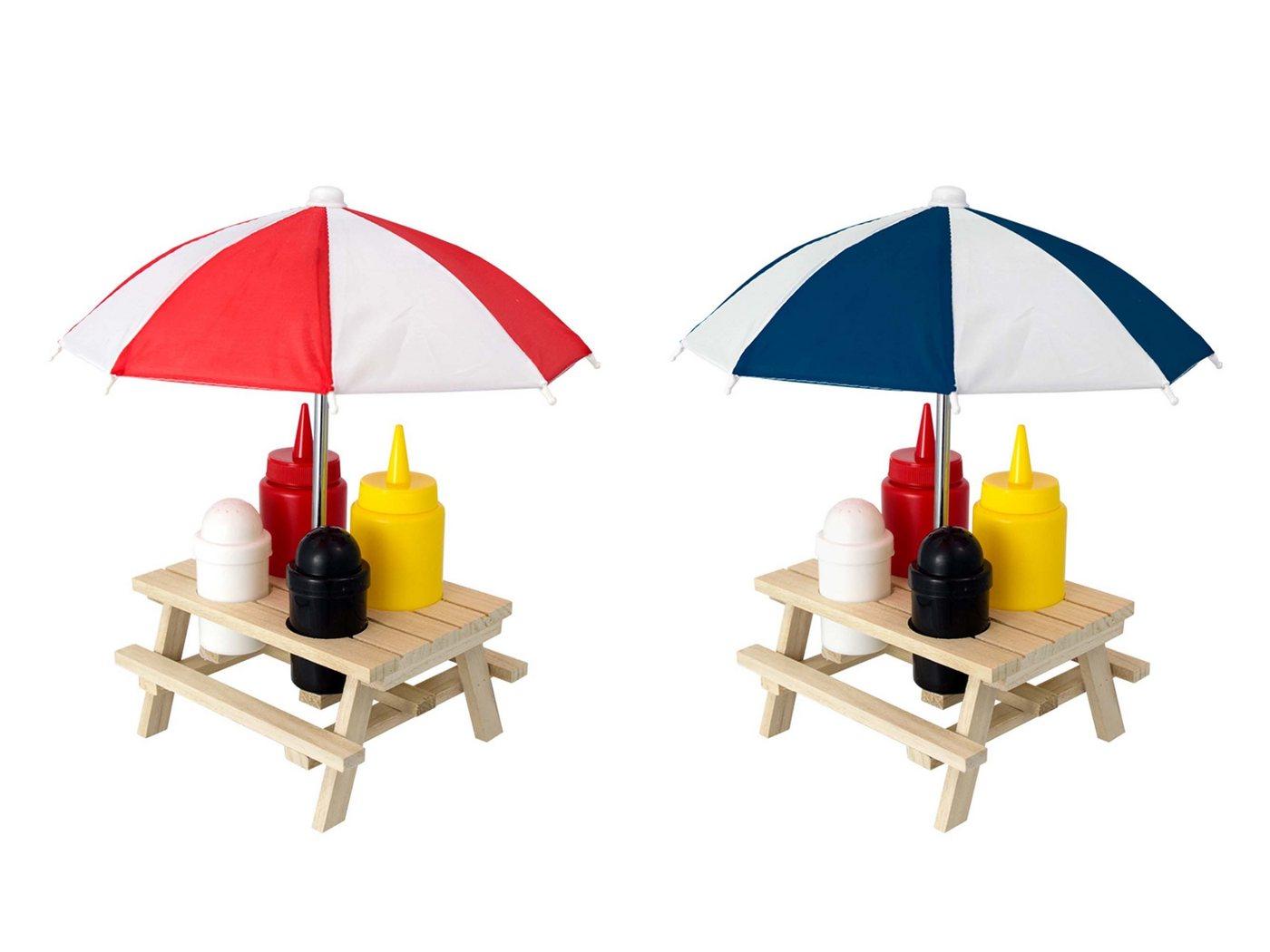 HTI-Living Menage Set 6-teilig »Picknicktisch« | Baumarkt > Camping und Zubehör > Weiteres-Campingzubehör | Bunt | HTI-Living