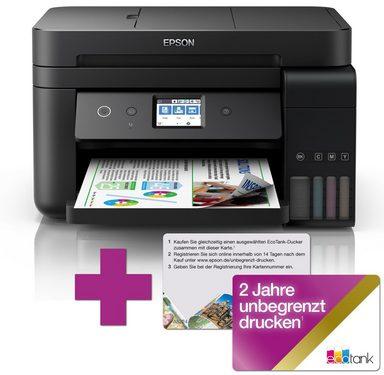 Epson Bundle ET-4750 + 2 Jahre kostenlose Tinte »Farbe, USB, Wifi, 4 in1«