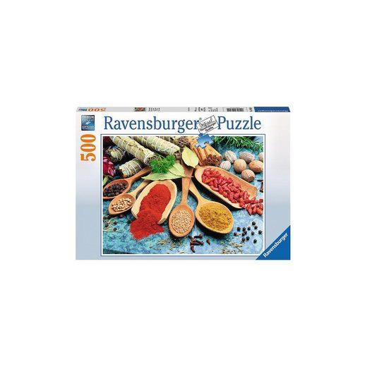 Ravensburger Puzzle 500 Teile Bunter Gewürztisch