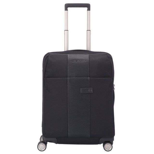 Piquadro Brief Travel 4-Rollen Kabinentrolley 55 cm | Taschen > Koffer & Trolleys > Trolleys | Schwarz | Piquadro