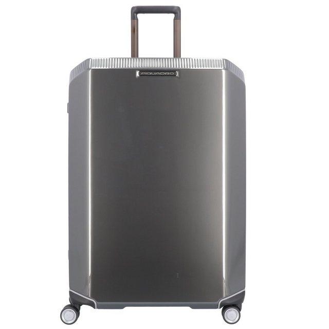 Piquadro Cubica 4-Rollen Trolley 75 cm | Taschen > Koffer & Trolleys > Trolleys | Grau | Piquadro