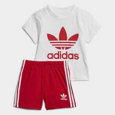 adidas Originals Funktionstights »Trefoil Shorts und T-Shirt Set« adicolor