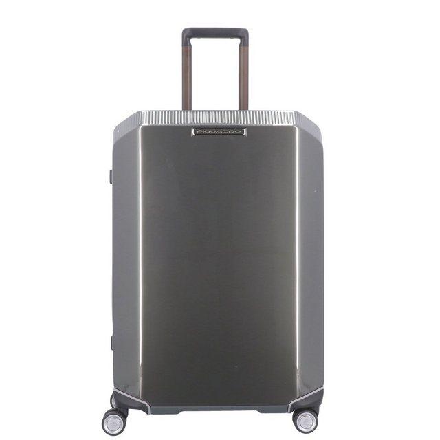 Piquadro Cubica 4-Rollen Trolley 68 cm | Taschen > Koffer & Trolleys > Trolleys | Grau | Piquadro
