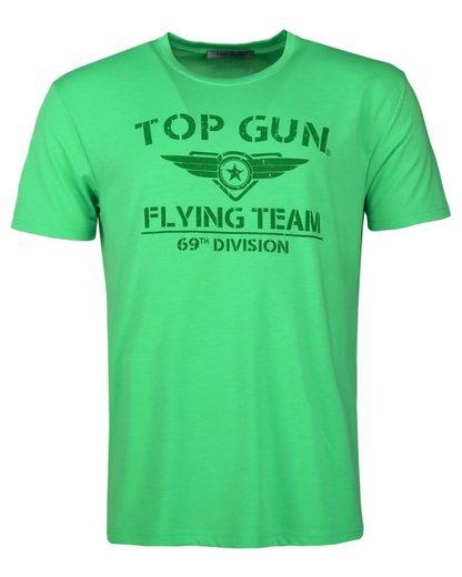 TOP GUN T-Shirt »Shining« sportlicher Schnitt