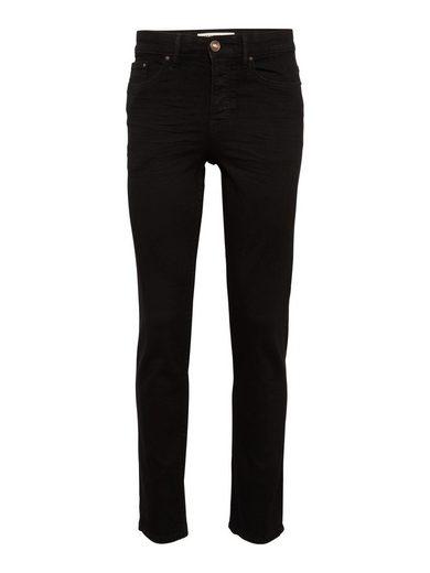 New Look Skinny-fit-Jeans »JUSTIN BLACK STRAIGHT«