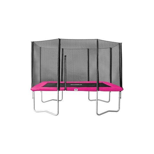 Salta Combo Trampolin 153x214cm, pink