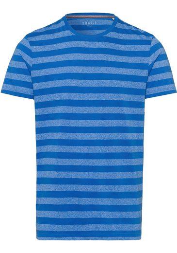 Esprit T-Shirt mit zeitlosem Streifenmuster