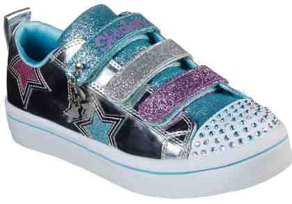 Skechers Kids »TWI Lites« Klettschuh mit cooler Blinkfunktion