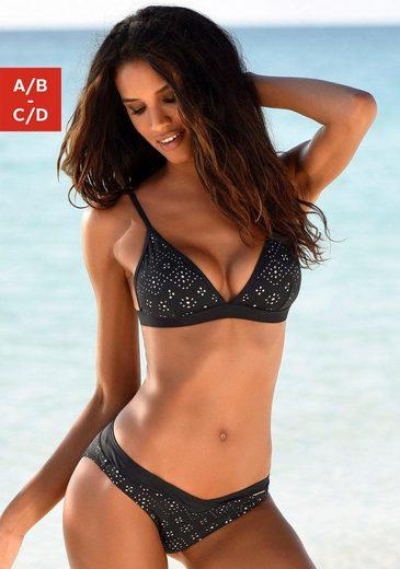 Sunseeker Triangel-Bikini-Top »Femme«, mit Cut Outs