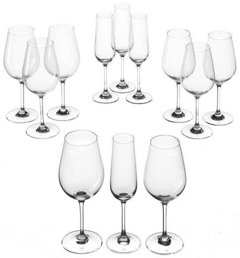 LEONARDO Gläser-Set »Tivoli« (12-tlg), Teqton-Qualität