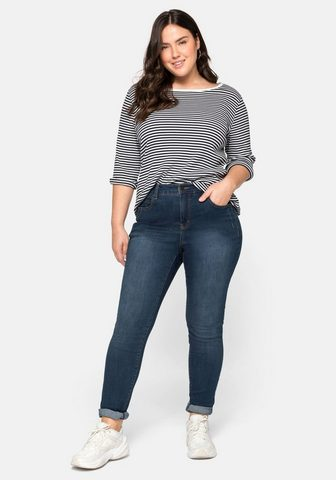 Sheego Stretch-Jeans extralang - speziell dėl...