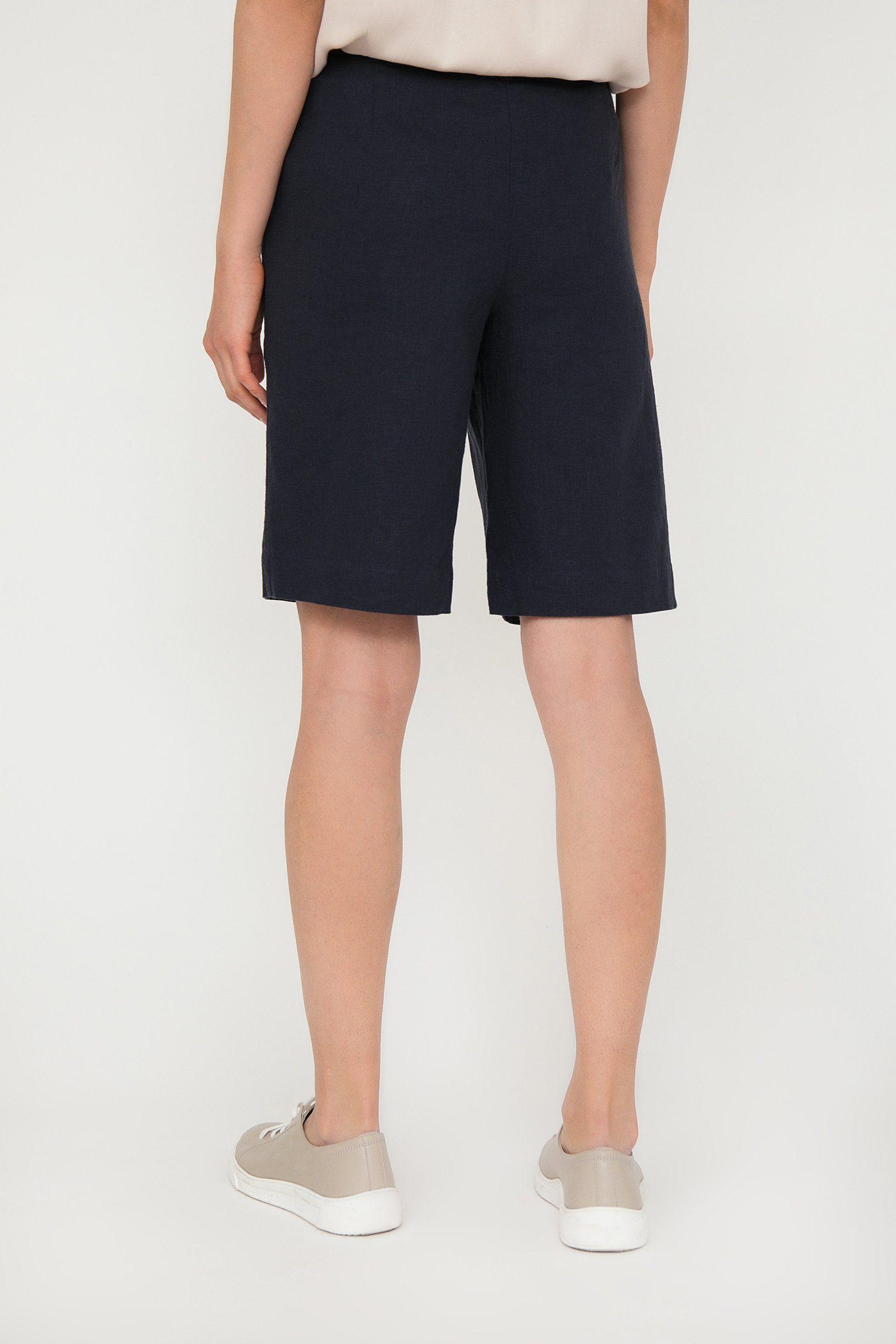 Finn Flare Shorts mit geradem Schnitt, Shorts aus Leinen und Viskose für den Sommer