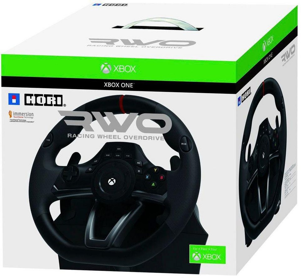 racing wheel xbox one over drive gaming lenkrad otto. Black Bedroom Furniture Sets. Home Design Ideas