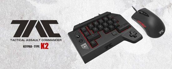 »TAC Four V2.0« Gaming-Tastatur