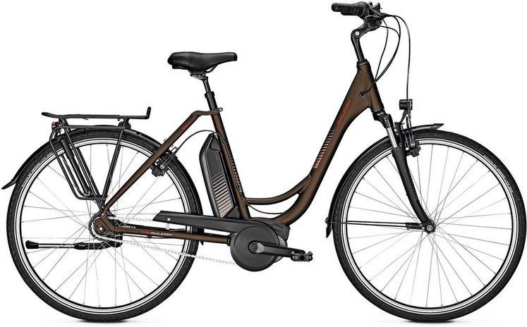 Raleigh E-Bike »Jersey 8«, Shimano Nexus Schaltwerk, Kettenschaltung, Mittelmotor 250 W