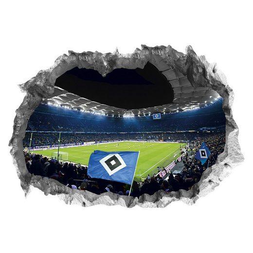 HSV 3D Wandtattoo, Stadionmotiv
