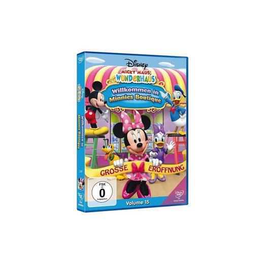 Disney DVD Micky Maus Wunderhaus: Willkommen in Minnies Boutique