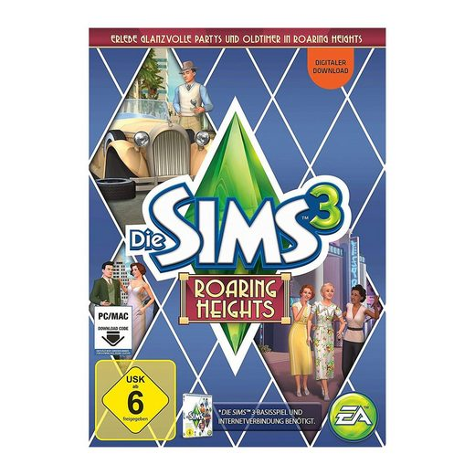 Electronic Arts PC Die Sims 3 - Roaring Heights (Download Code)