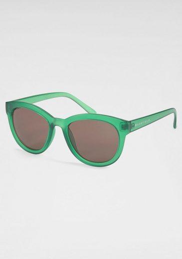 BASEFIELD Sonnenbrille mit farbigem Rand